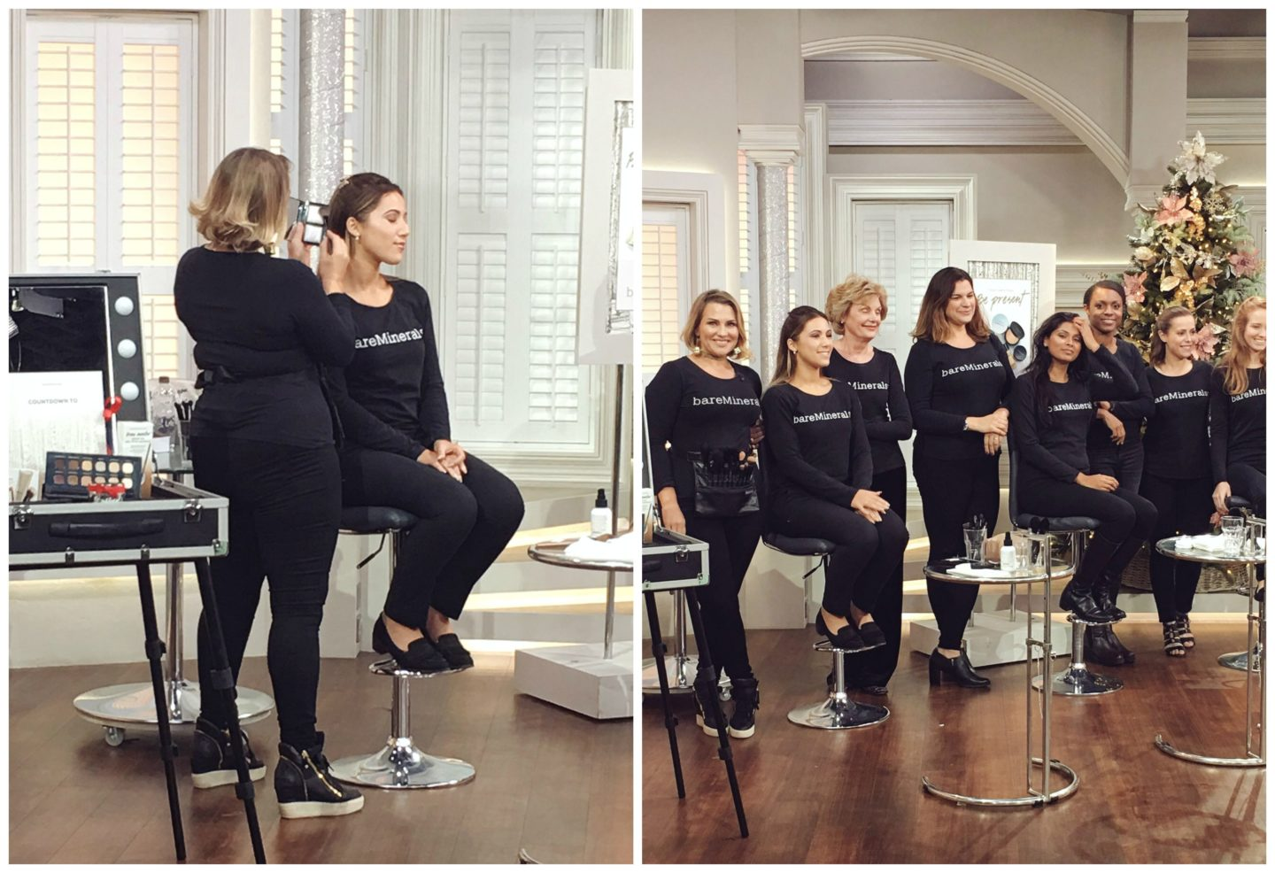 Backstage with bareminerals at qvc uk through monas eyes qvc uk ccuart Gallery