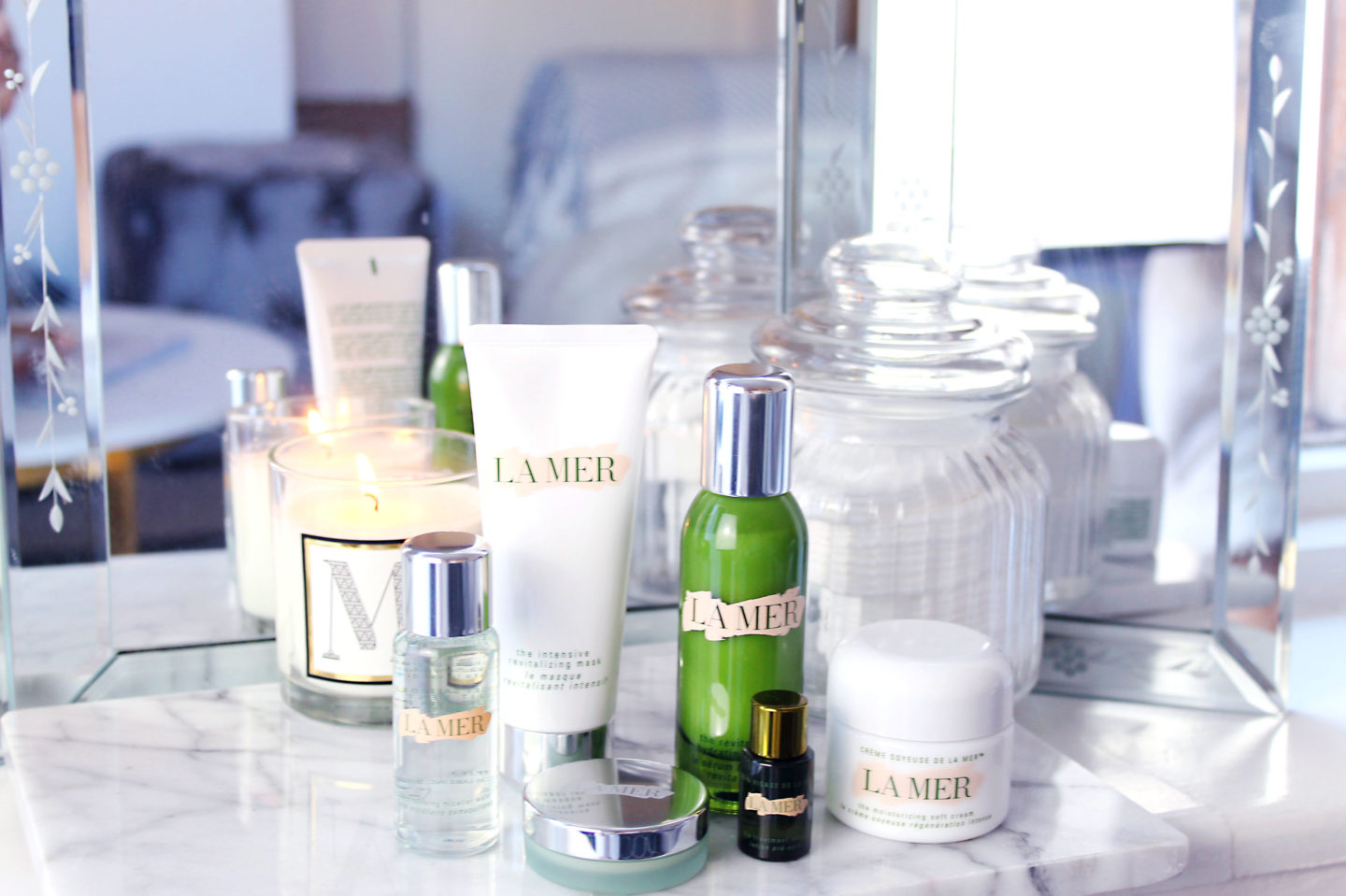 Why i 39 m using luxury skincare my la mer story through for La cabine skincare