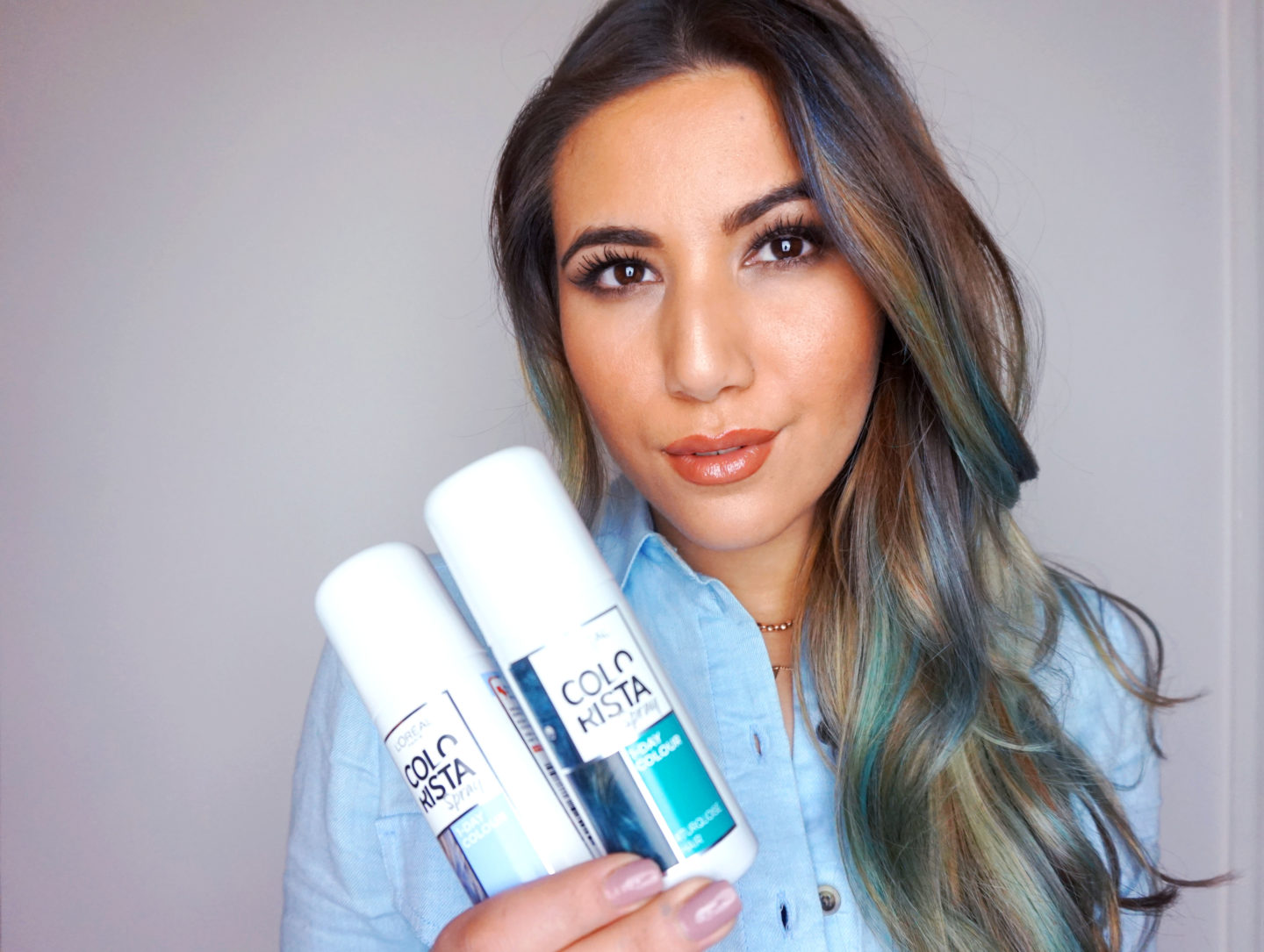 Festival Ready Hair In Seconds With L'Oreal Paris Colorista Sprays