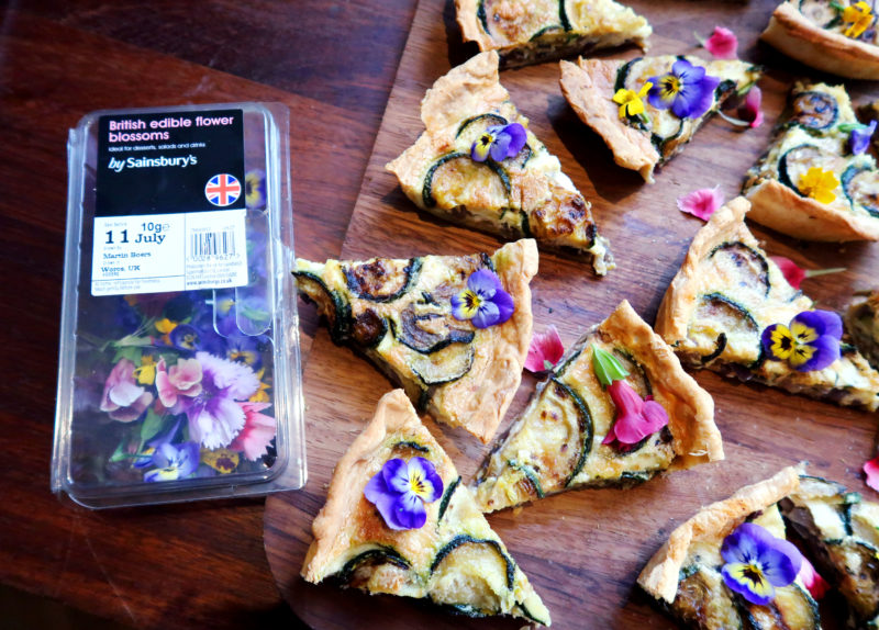 Sainsbury's Edible Flower Blossoms