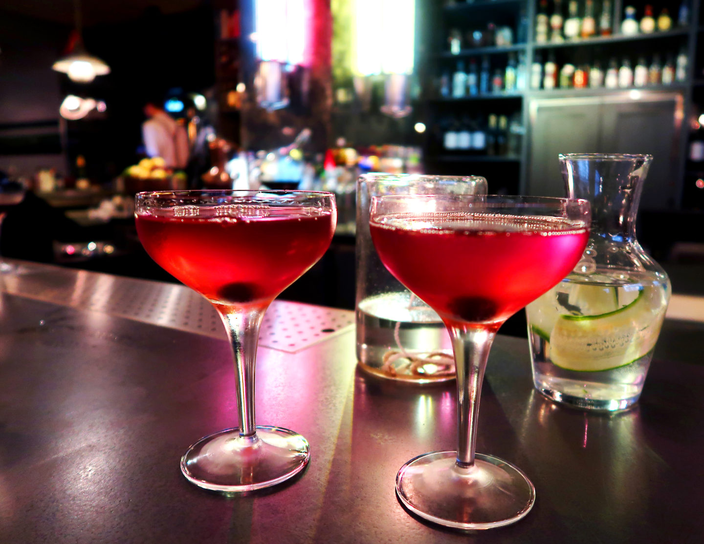 Where to go for Cocktails in London Bankside : Hixter