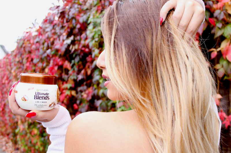 Winter Proof hair with Garnier Ultimate Blends Coco Match